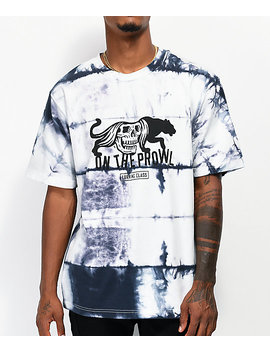 Lurking Class By Sketchy Tank On The Prowl White Tie Dye T Shirt by Lurking Class By Sketchy Tank