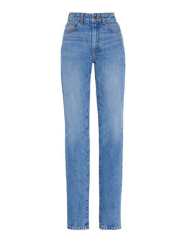 Mid Rise Skinny Jeans by Brandon Maxwell