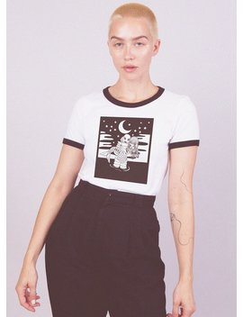 Lagoon Ringer Tee by Valfre