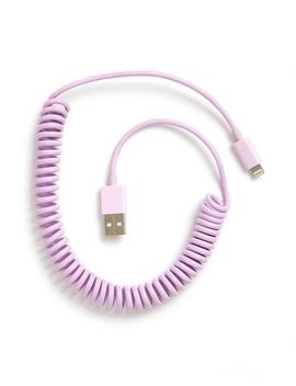 On The Line Charging Cord    Lilac by Ban.Do