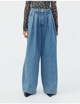 Pakita Blue Pant In Light Blue by Acne Studios Acne Studios