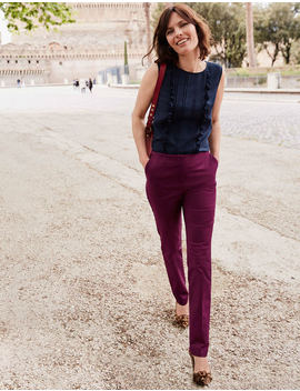 Kensington Trousers   Ruby Ring by Boden