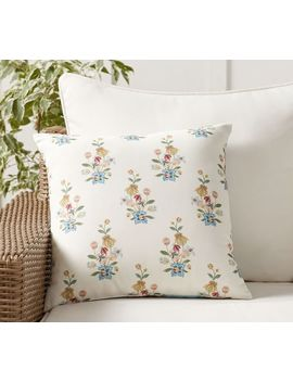 Indoor/Outdoor Ila Reversible Print Pillow by Pottery Barn