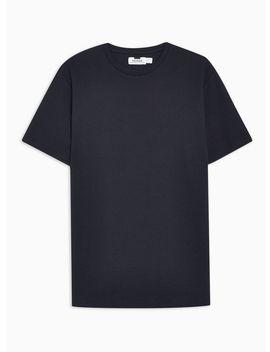 Navy Ottoman T Shirt by Topman