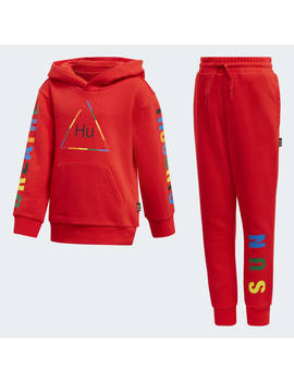 Pharrell Williams Hooded Track Suit by Adidas