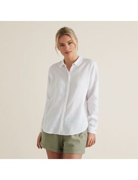 Classic Linen Shirt by Seed Heritage
