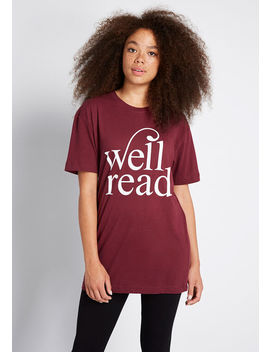 Well Read Graphic Tee by Modcloth