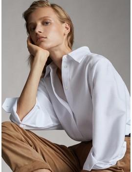 chemise-texturÉe-en-coton by massimo-dutti