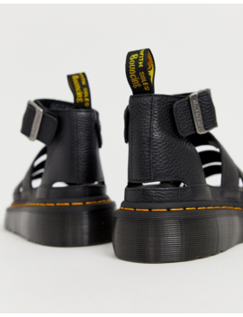 Dr Martens Clarissa Ii Quad Chunky Sandals In Black by Dr Martens