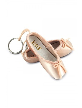 Mini Pointe Shoe Keyring by Bloch