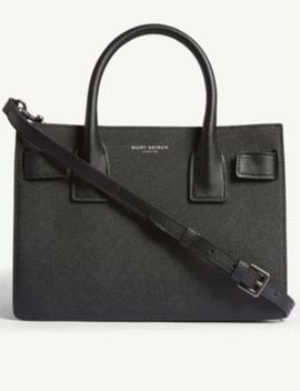 Shoreditch Leather Tote Bag by Kurt Geiger London