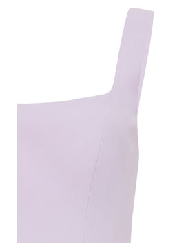 Clarke Square Neck Drape Mini Dress by Acler