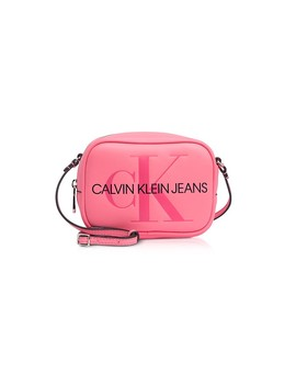 Sculpted Monogram Camera Bag W/ Signature by Calvin Klein Collection