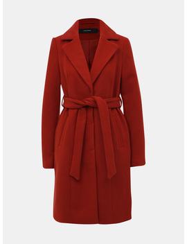 Cihlový Kabát Vero Moda Calalyon by Vero Moda