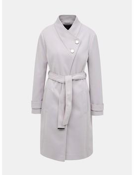 Světle šedý Kabát Dorothy Perkins by Dorothy Perkins