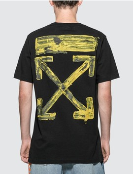 acrylic-arrows-slim-t-shirt by  ------------off-white --------