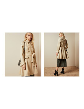 Traditional Belted Mac by Ted Baker