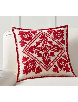Elsie Embroidered Pillow Cover by Pottery Barn