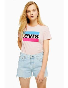Sports Logo T Shirt By Levi's® by Topshop