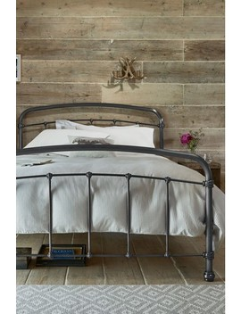 Shoreditch® Metal Bedstead With Footend by Next