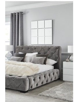 Harper Buttoned Bed by Next