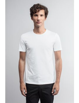 The T Shirt   White by Asket