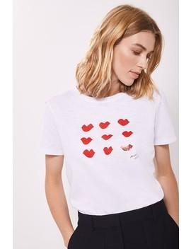 Mint Velvet Red Lips Mv T Shirt by Next