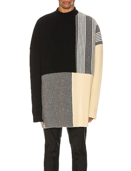 Panels Crewneck Sweater by Jil Sander