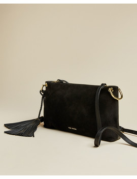 Small Double Tassel Cross Body Bag by Ted Baker