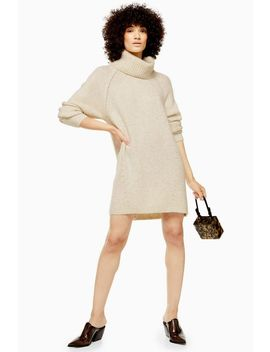 Oat Super Soft Knitted Dress by Topshop