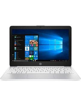 "Stream 11.6"" Laptop   Intel Atom X5   4 Gb Memory   64 Gb E Mmc Flash Memory   Vertical Brushed Pattern, Diamond White by Hp"