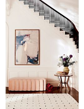 Tufted Wool Dot Rug by Anthropologie