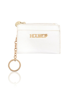 White Leatherette House Of Cb Card Purse by House Of Cb
