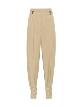 Pierce High Rise Cotton Pants by Isabel Marant