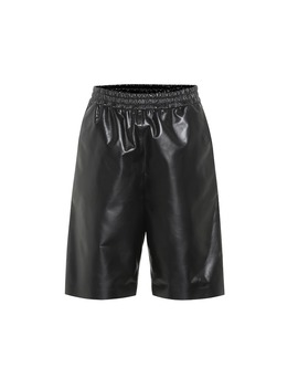 Leather Shorts by Tod's
