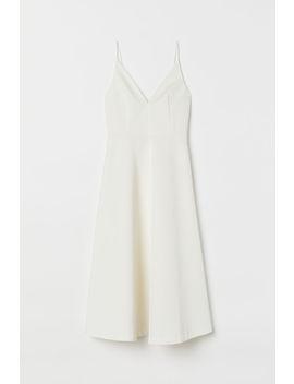 Svatební šaty S Výstřihem by H&M