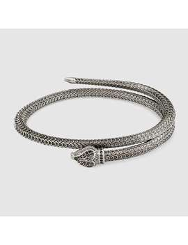 Gucci Garden Armband Aus Silber Mit Schlange by Gucci