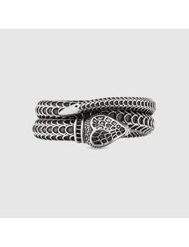 Gucci Garden Schlangen Ring Aus Silber by Gucci
