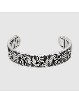 Doppel&Nbsp;G Armband Mit Blatt Motiv by Gucci