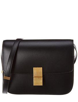 Celine Medium Classic Leather Shoulder Bag by Celine