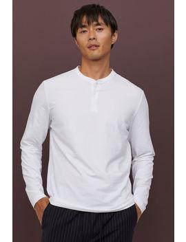 Henleyshirt   Slim Fit by H&M