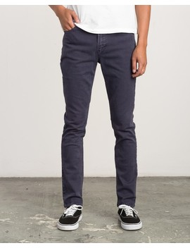 Daggers Pigment Slim Straight Jeans by Rvca