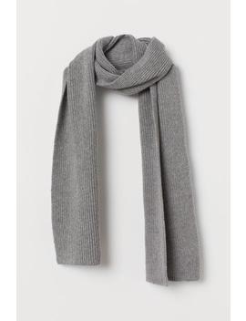 Ribgebreide Sjaal by H&M