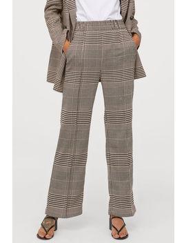 Straight Cut Suit Pants by H&M