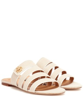 Kira Canvas Sandals by Tory Burch