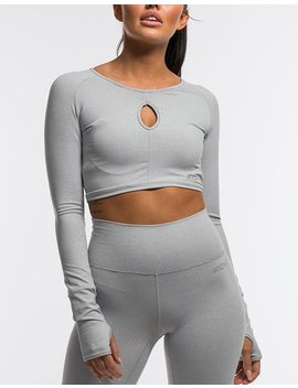 Echt Flex Cropped Long Sleeve by Echt