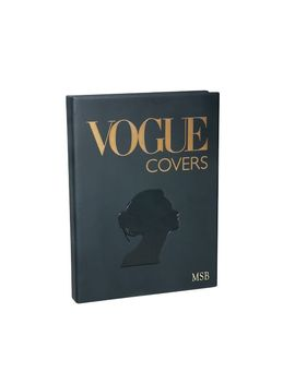 Vogue Covers Leather Book by Pottery Barn