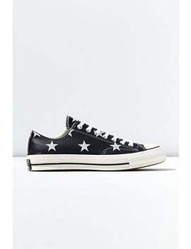 Converse Chuck 70 Star Print Leather Low Top Sneaker by Converse