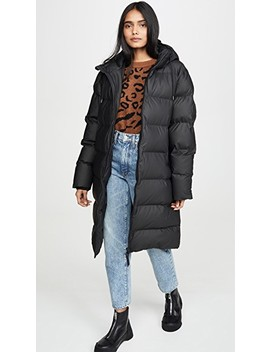 Long Puffer Jacket by Rains