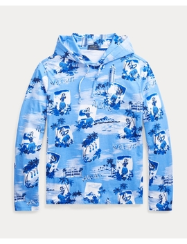 Tropical Hooded T Shirt by Ralph Lauren